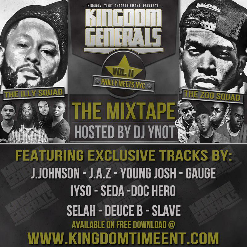 Kingdom Generals Vol.II - DJ YNot?