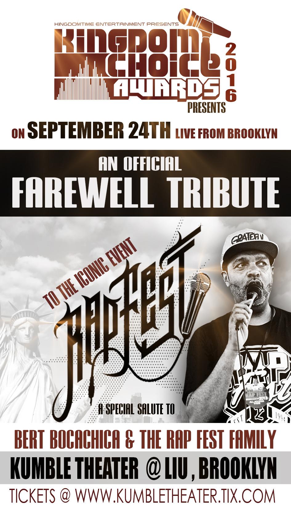 Rapfest tribute